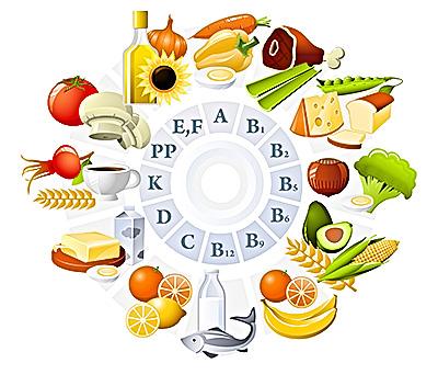 Vitamin và khoáng chất rất cần thiết trong chế độ ăn cho bà bầu.